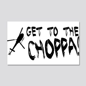 Get To the Choppa Wall Decal