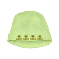 Paisley owl baby hat