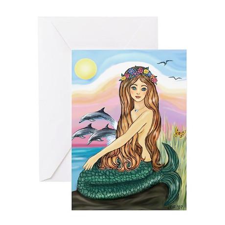 Mermaid by JBF Greeting Cards