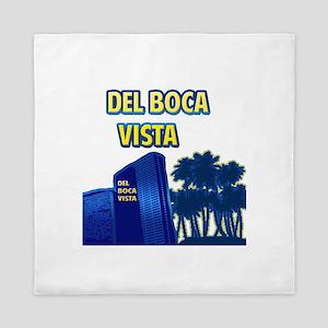 Del Boca Vista Queen Duvet