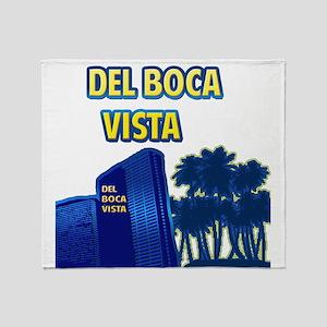 Del Boca Vista Throw Blanket