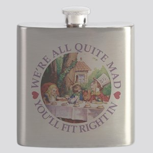 WERE ALL QUITE MAD_purple Flask
