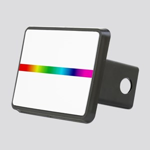 rainbow_stripe Hitch Cover