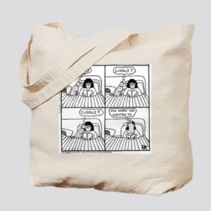Late Night Cuddle - Tote Bag