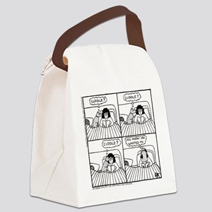 Late Night Cuddle - Canvas Lunch Bag