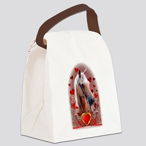 Sunny Hearts Canvas Lunch Bag