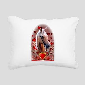 Sunny Hearts Rectangular Canvas Pillow