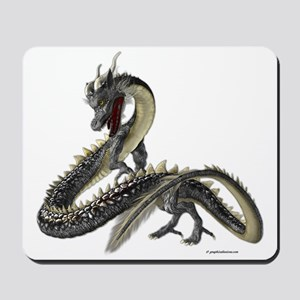 The Silver Dragon Mousepad