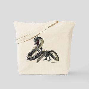 The Silver Dragon Tote Bag