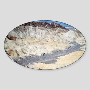 Badland erosion - Sticker (Oval)