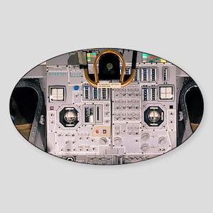 Apollo Lunar Module interior - Sticker (Oval)