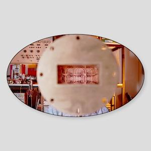Faster-than-light equipment - Sticker (Oval)