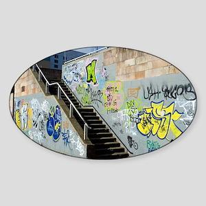 Graffiti - Sticker (Oval)
