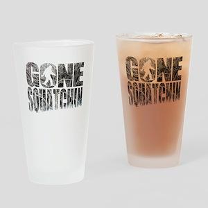 Gone Squatchin *Winter Woods Edition* Drinking Gla