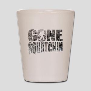 Gone Squatchin *Winter Woods Edition* Shot Glass