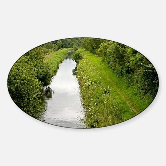 Lancaster Canal, UK - Sticker (Oval)