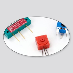 Mini pcb potentiometers - Sticker (Oval)