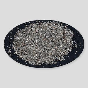 Osmiridium sand - Sticker (Oval)