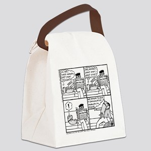 Communication Problem - Canvas Lunch Bag