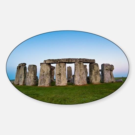 Stonehenge - Sticker (Oval)