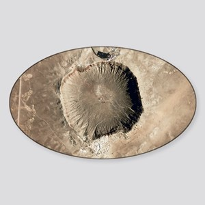 Barringer Crater, Arizona - Sticker (Oval)