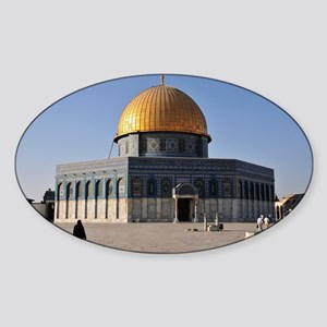 Dome of the Rock - Sticker (Oval)