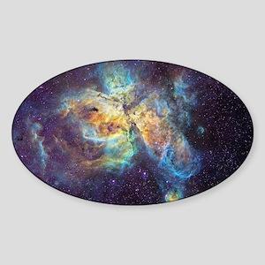 Eta Carinae Nebula - Sticker (Oval)