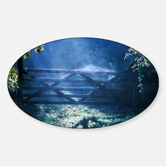 Evaporation - Sticker (Oval)