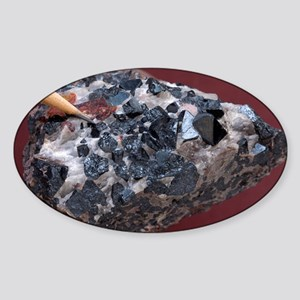 Franklinite - Sticker (Oval)