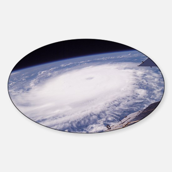 Hurricane Frances - Sticker (Oval)