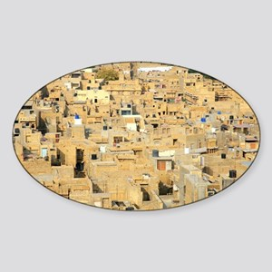 Jaisalmer, India - Sticker (Oval)