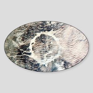 Manicouagan reservoir - Sticker (Oval)