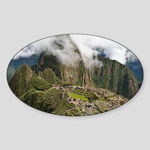 Machu Picchu, Peru - Sticker (Oval)