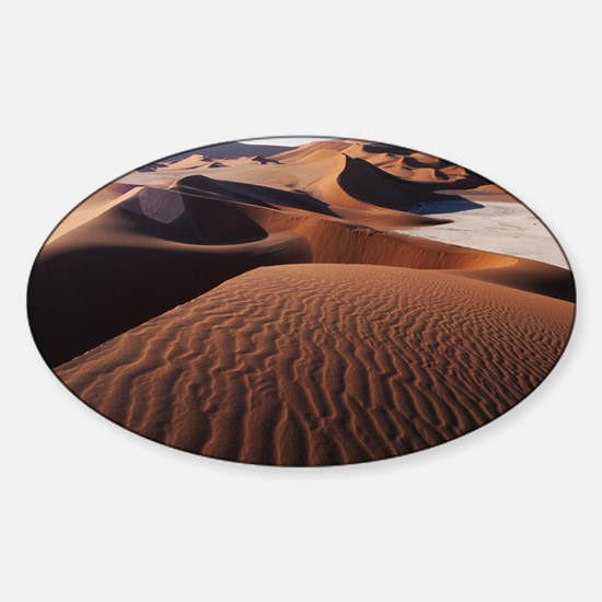 Sand dunes - Sticker (Oval)