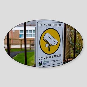 in Wales - Sticker (Oval)