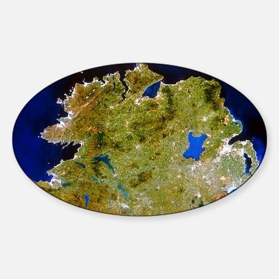 ster, Ireland - Sticker (Oval)
