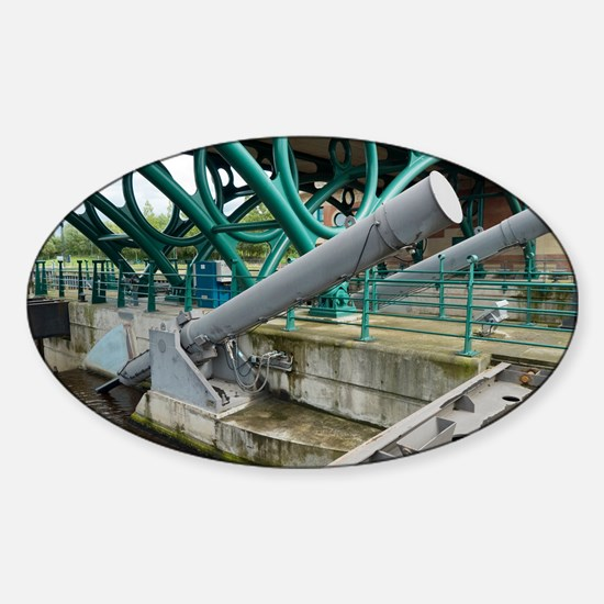 Tees Barrage - Sticker (Oval)