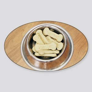 Dog biscuits - Sticker (Oval)