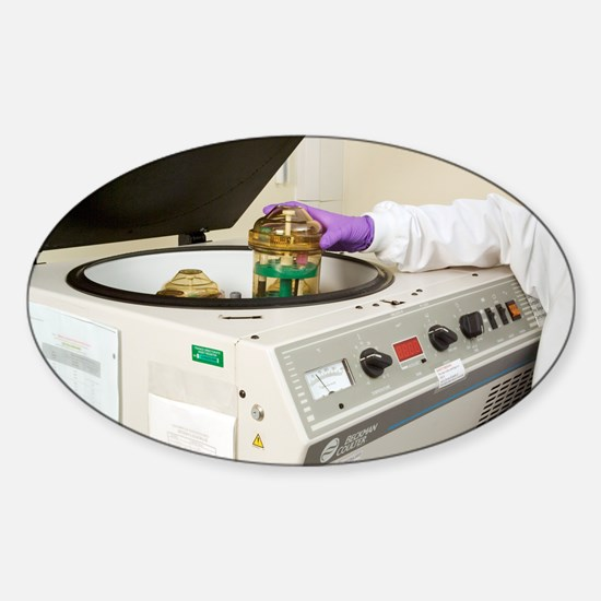 Blood centrifuge - Sticker (Oval)