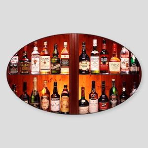 Drinks cabinet - Sticker (Oval)