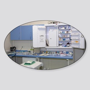 Operating theatre drugs cabinet - Sticker (Oval)