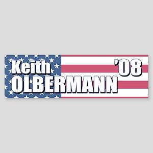 KEITH OLBERMANN '08 Bumper Sticker