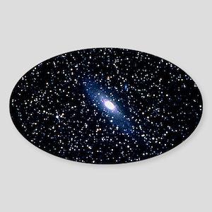 da Galaxy - Sticker (Oval)