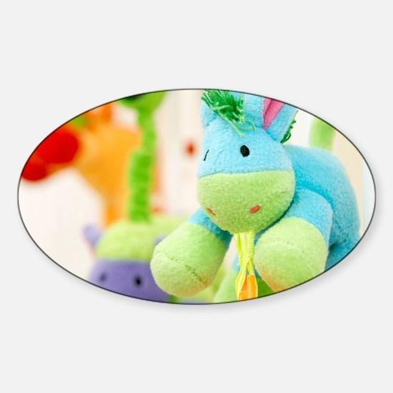 Stuffed toys - Sticker (Oval)