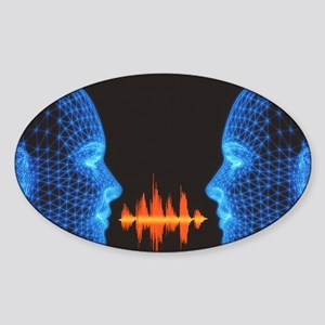Speech - Sticker (Oval)