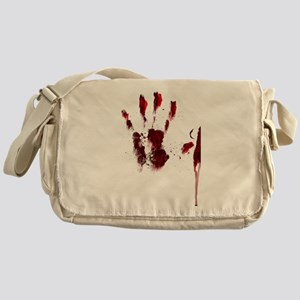 The Red Hand Messenger Bag