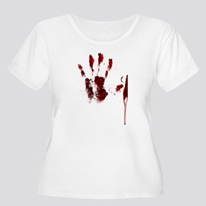 The Red Hand Plus Size T-Shirt