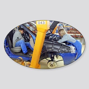 25-millionth Lada car - Sticker (Oval)