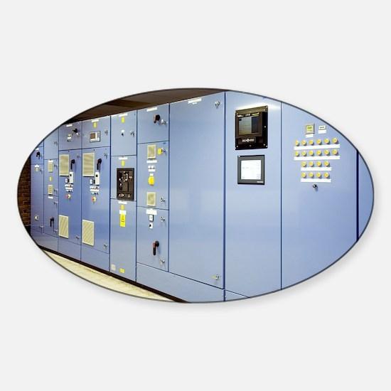 Control panel - Sticker (Oval)