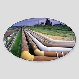 Cooling pipes - Sticker (Oval)